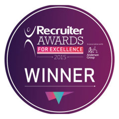Recruiter Awards for Excellence 2015 logo