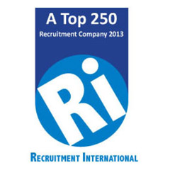 Recruitment International Top 250 logo